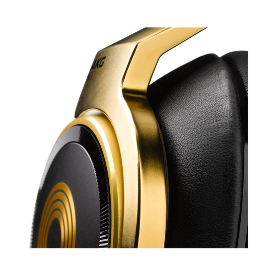 N90Q - Gold - Reference class auto-calibrating noise-cancelling headphones - Detailshot 6