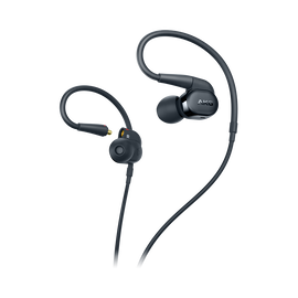 AKG N30 - Black - Hi-Res in-ear headphones with customizable sound - Hero