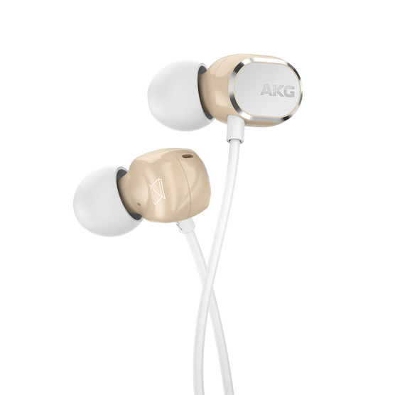 AKG N25 - Beige - Hi-Res in-ear headphones - Detailshot 1