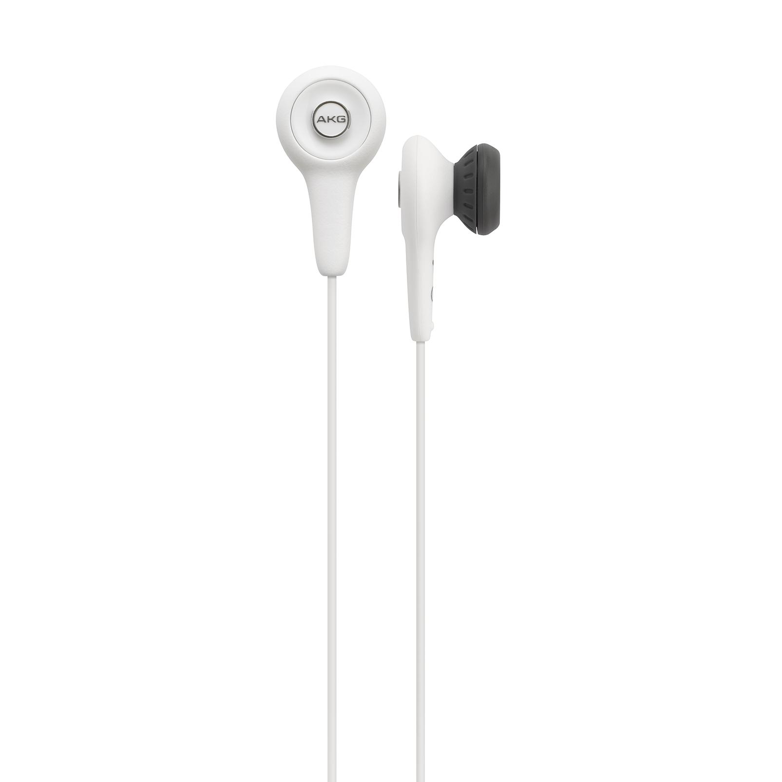 Y10 - White - Lightweight in-ear headphones - Hero